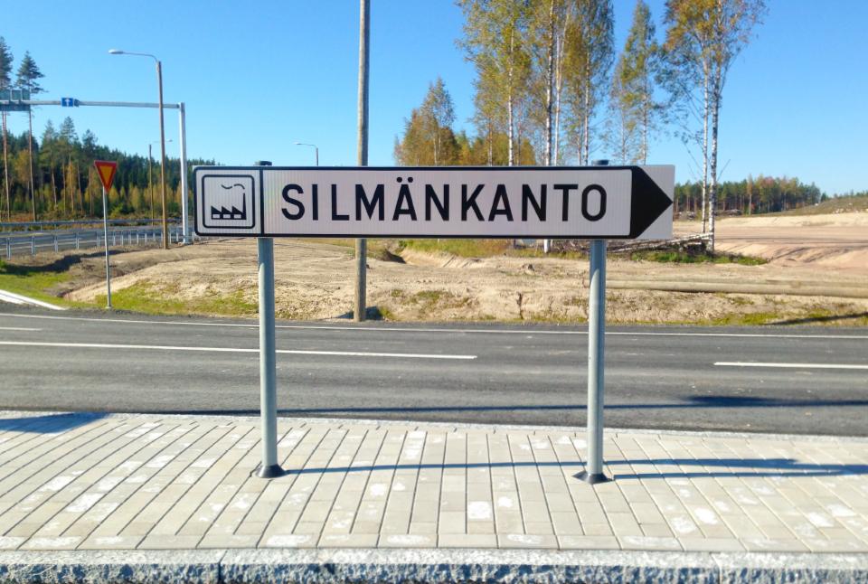Yritysalue Silmänkanto, rakennusvalmiit yritystontit 9,5€ / m2.